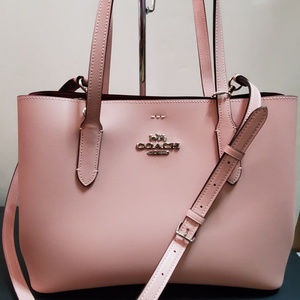 Coach Avenue Carryall Tote Petal Strawberry Pink
